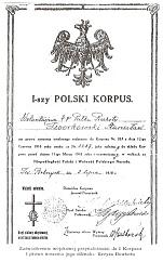 I-szy POLSKI KORPUS